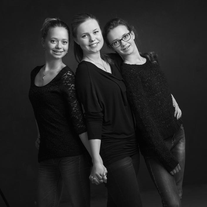 portret zusjes