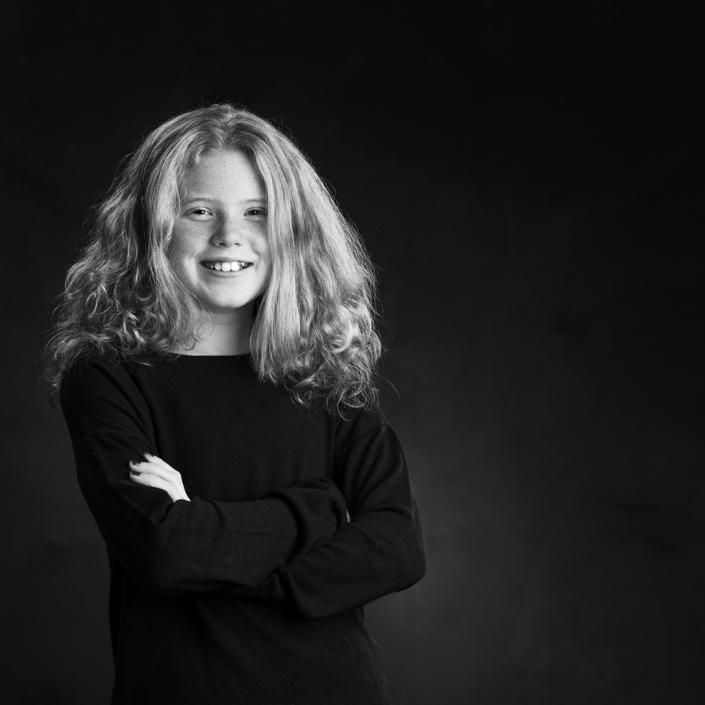 portret jonge dame