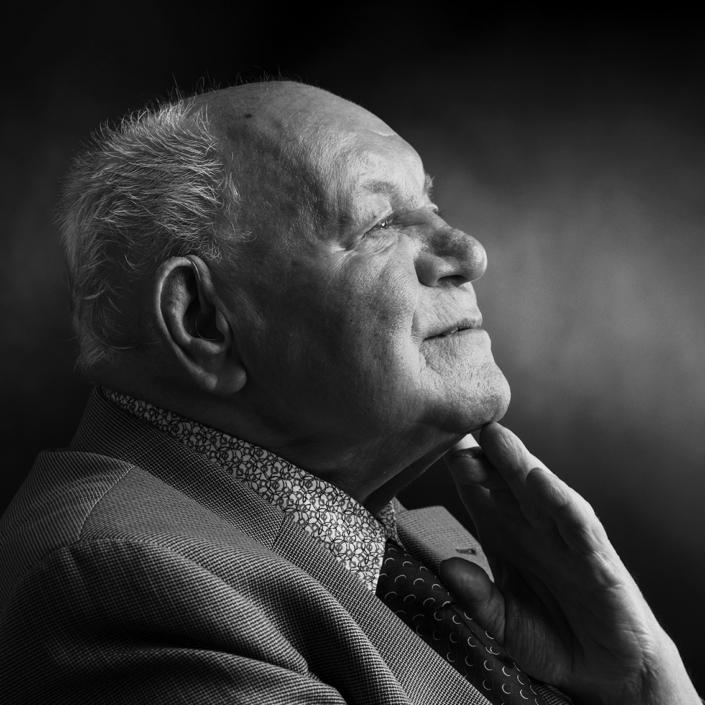 portret oude heer